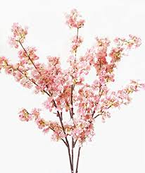 flowers arrangements 39 inch artificial cherry blossom branches flowers
