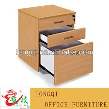 sale good quality fashion office table 3 drawer wooden sliding