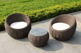 rattan coffee table outdoor furniture chic wicker coffee table for decorate outdoor living