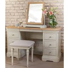 bedroom set with vanity table painted oak dressing table with mirror stool lyon bedroom