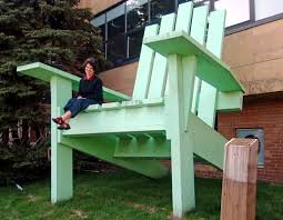 Minnesota travel chairs images The twin cities 39 twin giant adirondack chairs this one near lake jpg
