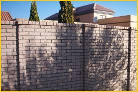 plum coloured brickcrete concrete precast walls with stripes