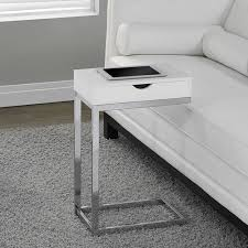 monarch specialties accent table metal accent table with drawer by monarch specialties