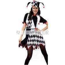 Halloween Jester Costume Harlequin Jester Clown Circus Costume U0026 Hat Halloween Funny