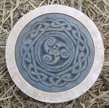 Stepping Stone Molds Uk by Gostatue Mold Stepping Stone Gothic Wicca Celtic Mold Plaster