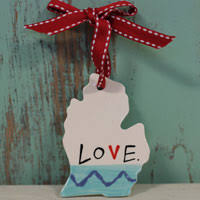 ornaments michigan made products and gifts