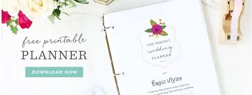Downloadable Wedding Planner Downloadable Printables