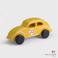 wooden toy wooden car