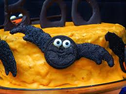 melissa kaylene halloween snacks idea a chocolate orange cake
