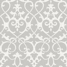 nuwallpaper nu1699 ironwork grey peel u0026 stick wallpaper ebay