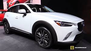 mazda suv models 2016 mazda cx 3 awd skyactiv exterior and interior walkaround