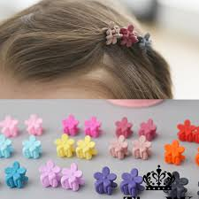 jaw clip 10 pcs new fashion baby small hair claw candy color
