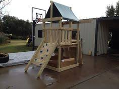 Backyard Swing Set Plans by Build Your Own Endeavor Wood Playscape With 10 U0027 Slide And Three