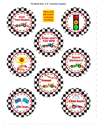 race car cupcake topper race car cupcake wrapper printable
