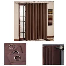 Patio Door Thermal Blackout Curtain Panel Thermal Blackout Patio Door Curtain Panel Sliding Wide Curtains