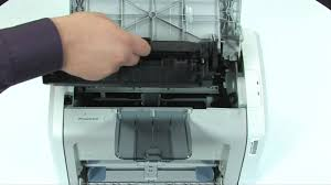 replacing a cartridge hp laserjet 1020 printer youtube