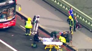 Counter Attack Under Cabinet Lights by Police Say 5 People Died In London Attack