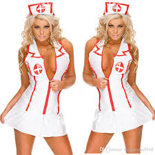 Size Nurse Halloween Costumes Lingerie Nurse Club Seduction Cosplay Lingerie