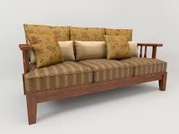 Country Style Sofa by Sofa Country Style 3d Model Cgtrader