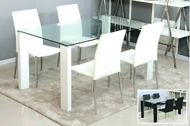 Glass Dining Room Furniture Dining Tables Amusing Glass Top Dining Room Table Glass