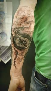 tattoo compass realistic 90 coolest forearm tattoos designs for men and women you wish you have