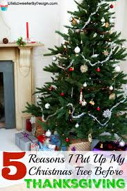 when to put up tree decore