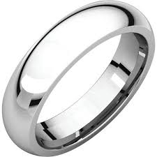 comfort fit ring sterling silver plain simple style comfort fit ring