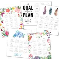 printable calendar 2016 etsy lyndsay johnson 2017 printable calendars