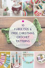 308 best crochet christmas patterns images on pinterest holiday