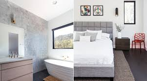 Master Bedroom Wall Sconces Inside Look A Modern Nest In The Woods By Matthew Lechowick At