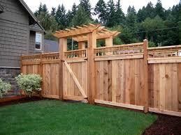 Backyard Fence Ideas Backyard Fence Gate Ideas Fences Design