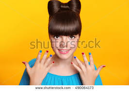 men with red fingernails and curlers in hair yellow hair stock images royalty free images vectors shutterstock