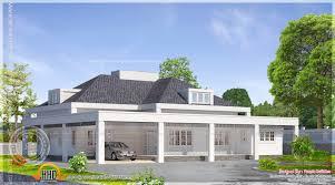 single floor european model house indian plans home building