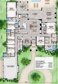 one house plan coastal contemporary florida mediterranean house plan 75967