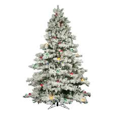 artificial white christmas trees christmas lights decoration