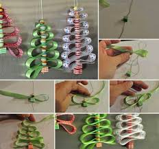 Ribbon Decoration For Christmas Tree creative ideas diy beads and ribbon christmas tree