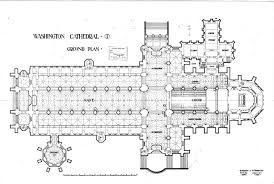 ground plan washington national cathedral collection at the national building