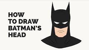 batman car drawing how to draw batman u0027s face easy step by step drawing tutorial
