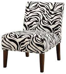 Zebra Accent Chair Zebra Print Accent Chair Contemporary Armchairs And Accent