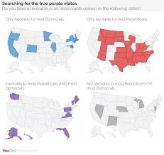 Where Is Alaska On The Map by Yougov Not All States Are Red Or Blue In Search Of The Purple