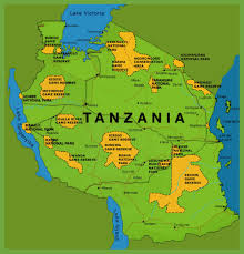 parks map tanzania national parks map