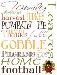 free fall printables thanksgiving