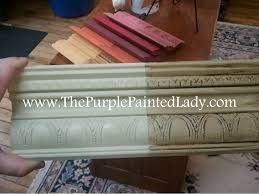 can chalk paint be used without sanding sanding chalk paint before or after waxing the purple