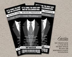 tuxedo invitation etsy