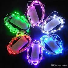 cheap cr2032 battery operated led strings light 2m 20leds twinkle