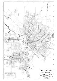 Dallas Map by Dallas Streetcar Flashback See Dallas U0027 Streetcar Map From 1925