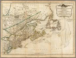 Map Of Quebec Province A General Map Of The Northern British Colonies In America David
