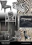 Zebra Print Living Room Decor | Home Improvement and Remodeling Ideas