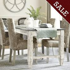 White Distressed Dining Room Table Distressed White Dining Table Tale Ballard Designs 11 In
