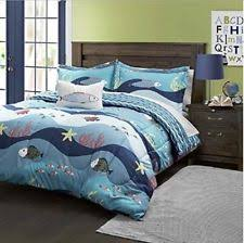 Fish Themed Comforters Keeco Kids Pirate Nautical Skull Sea Themed Bedding Set White Red